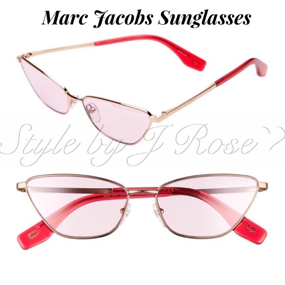Marc Jacobs Accessories - NIB Marc Jacobs Aviator Sunglasses